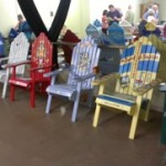 HIghway 8 Chairs at Parmly