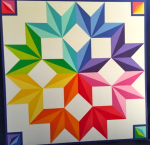 "Quilt 17 ""Colors of Chisago"""
