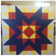 "Quilt 20 ""Morning Star"" """