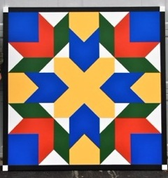 "Quilt 29 ""Cross & Darts"""