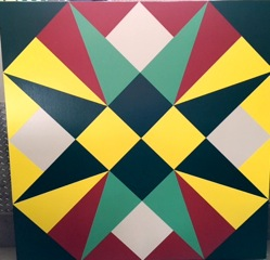 "Quilt 62 ""Heavenly Star"""